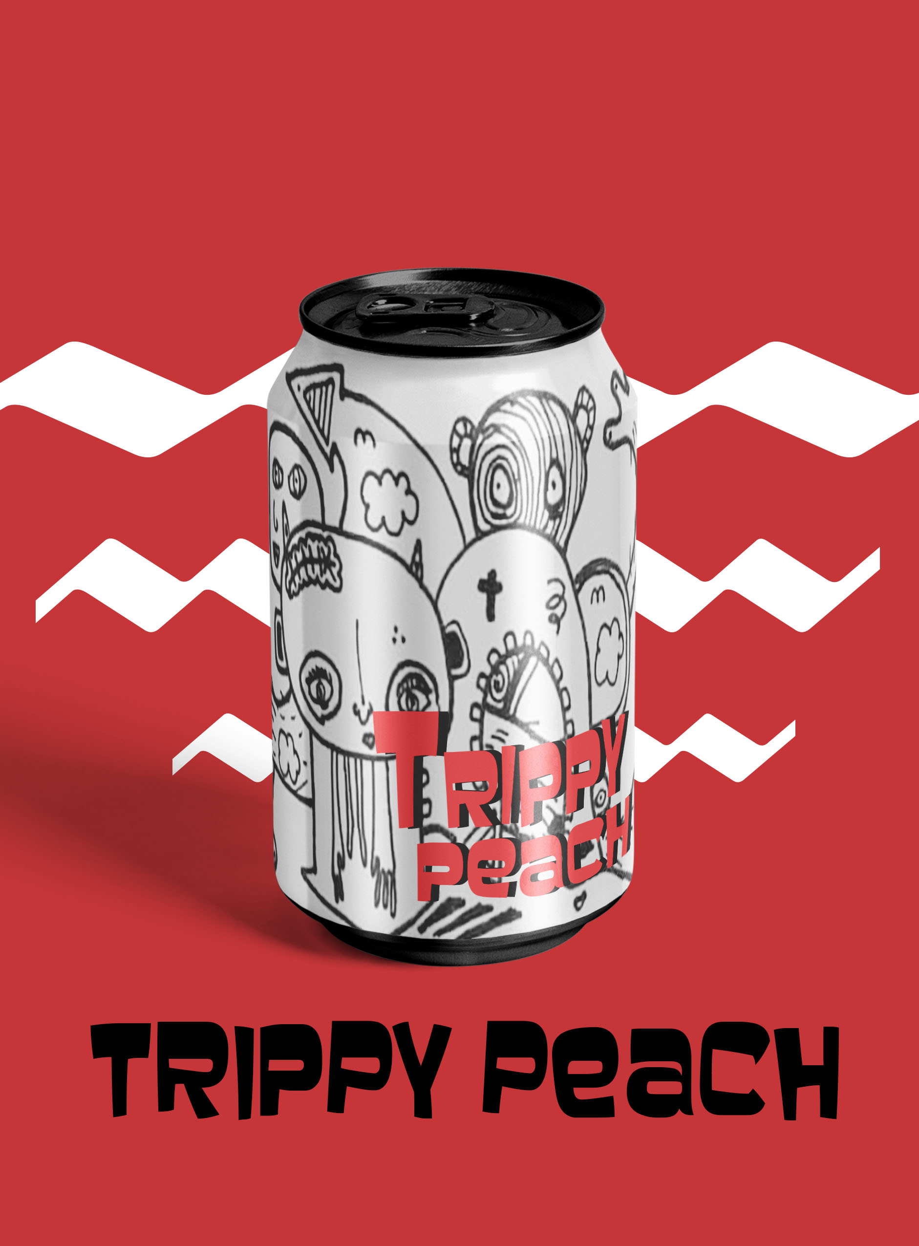 Trippy Peach